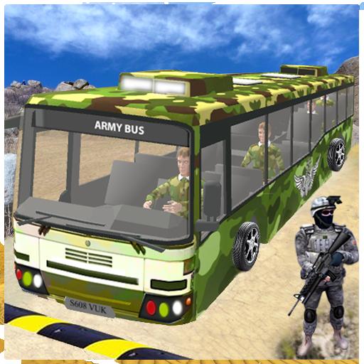 US Army Coach Bus Simulation