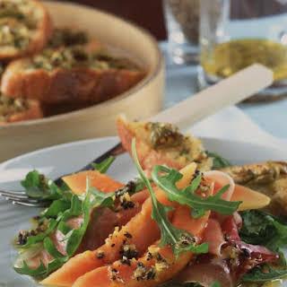 Prosciutto and Papaya Salad.