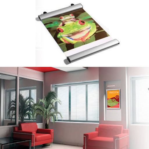 Advertising Poster Frames and Rails