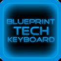 Blue Tech Keyboard Skin icon