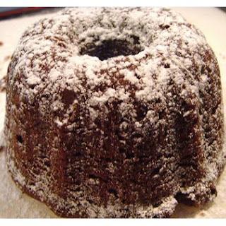 Mocha Bundt Cake.