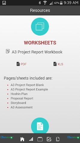 Manufacturing A3 Proj. Report Screenshot