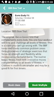 Barre Body Studio App- screenshot thumbnail