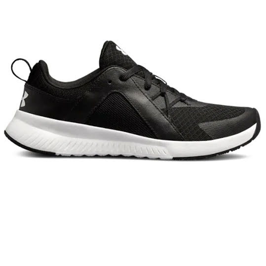 Under Armour Tempo Trainer Woman Black/Black/White Stl: 37 1/2