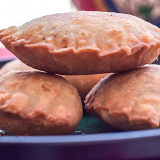 Dry Fruit Ghughra Recipe (Gujiya) - Pastry Crust Filled with Dry fruits