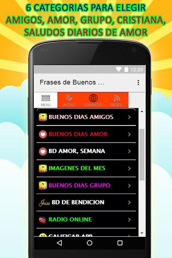 FRASES DE BUENOS DIAS 1.19 screenshots 1