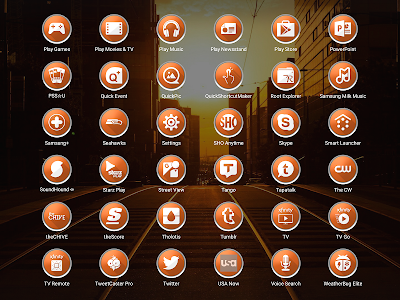 Enyo Orange - Icon Pack screenshot 14