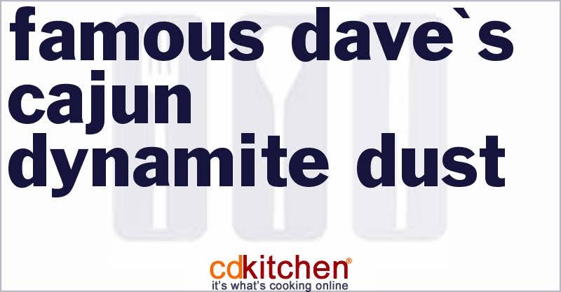 Famous Daves Cajun Dynamite Dust