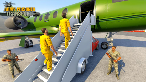 Army Prisoner Transport: Criminal Transport Games apkmind screenshots 1