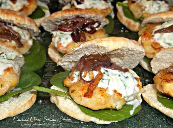 Emerald Coast Shrimp Sliders