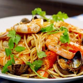 Good for You Seafood Spaghetti Recipe