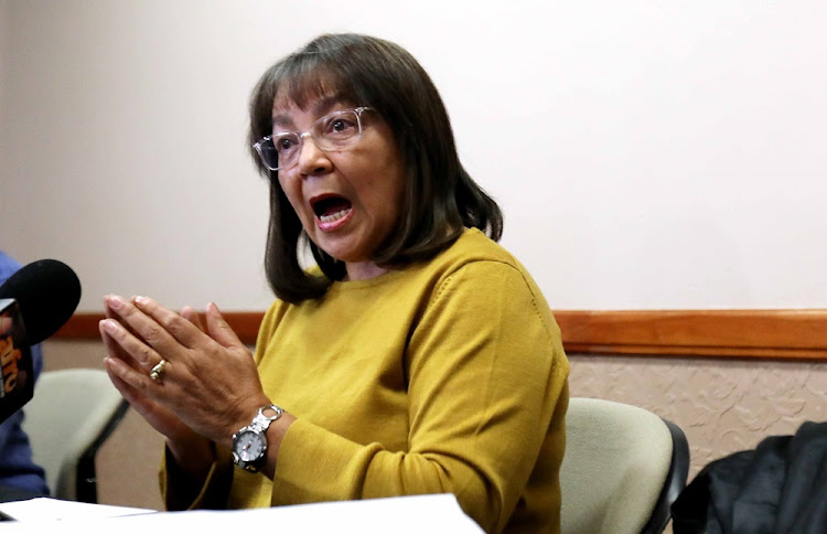 Patricia de Lille said law firm Bowman published two reports' one clearing her of wrongdoing and the other calling for criminal charges and internal disciplinary steps against her.