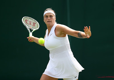 Aryna Sabalenka is partner van Elise Mertens in dubbelspel