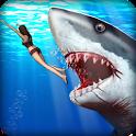 Angry Shark Hunter icon