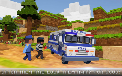 Download Mr Blocky City Police Craft On Pc Mac With Appkiwi Apk
