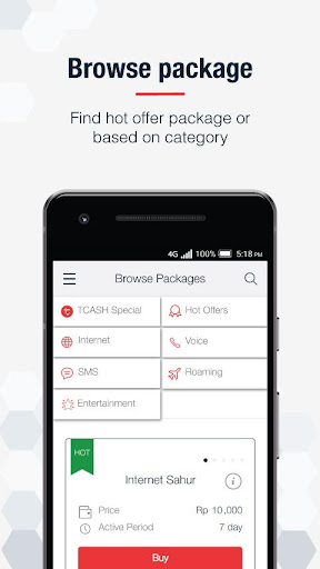 MyTelkomsel - Check Quota & Best Internet Packages  screenshots 3