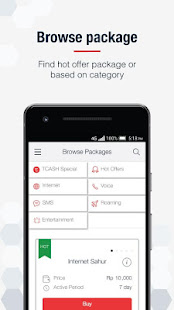 App MyTelkomsel - Check Quota & Best Internet Packages APK for Windows Phone