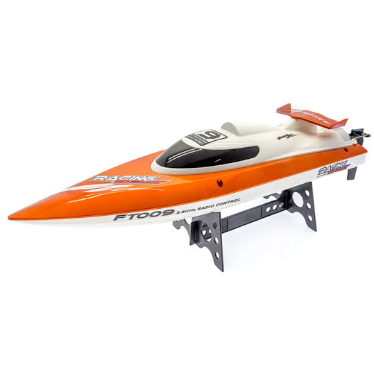 Feilun, Remote Controlled Boat FT009, 30 km/h, 2,4G, Orange