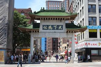 Photo: Chinatown gate