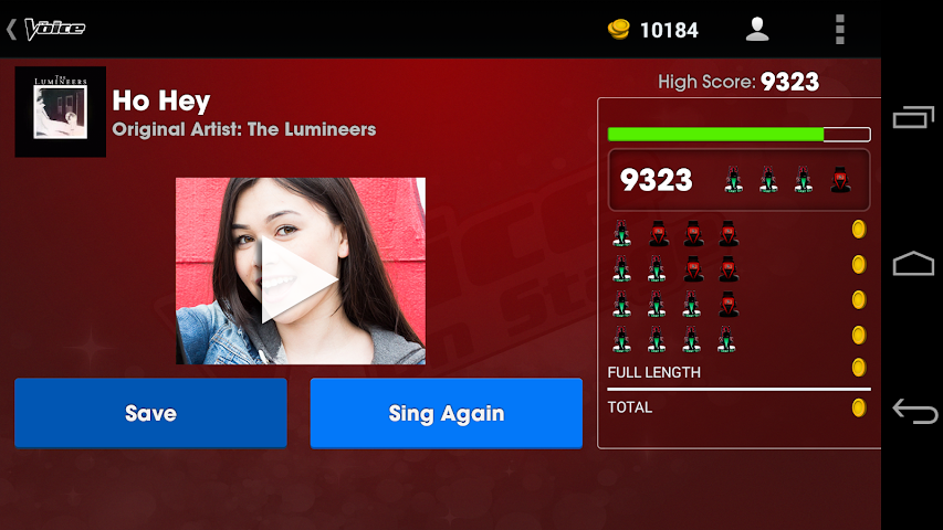 android The Voice: On Stage Screenshot 10