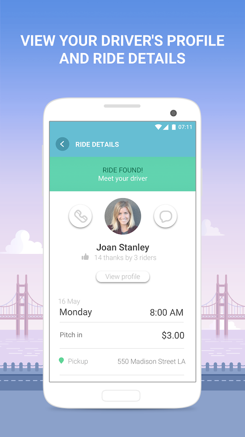 Waze Carpool - Get a Ride Home & to Work - Android Apps on ...