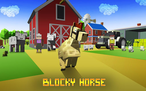 Blocky Horse Simulator modavailable screenshots 1