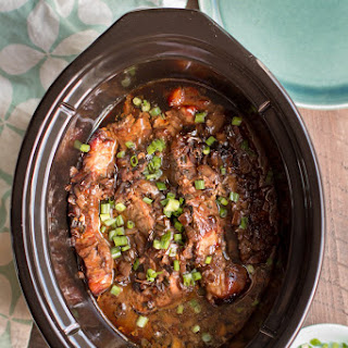 Slow Cooker Molasses Country Style Pork Ribs.