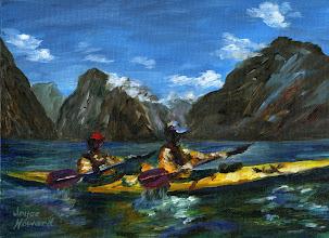 Photo: Kayaking in New Zealand