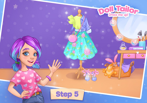 Fashion Dress up games for girls. Sewing clothes 4.0.7 screenshots 10