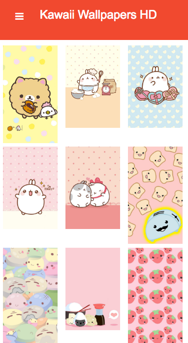 Kawaii Wallpapers Cute- screenshot