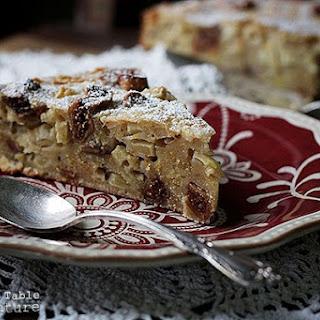 Fig & Honey Apple Polenta Cake | Bustrengo