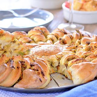 Chiko Roll Pull-Apart Bread Recipe