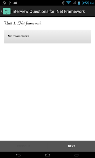 Questions for .Net Framework