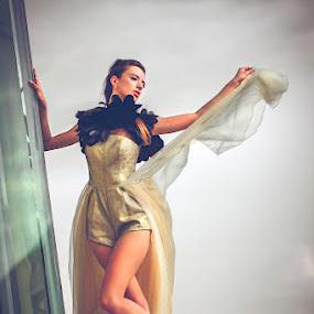 down the earth by Handy Wijaya - People Fashion ( polina romanova, fashion, surabaya )