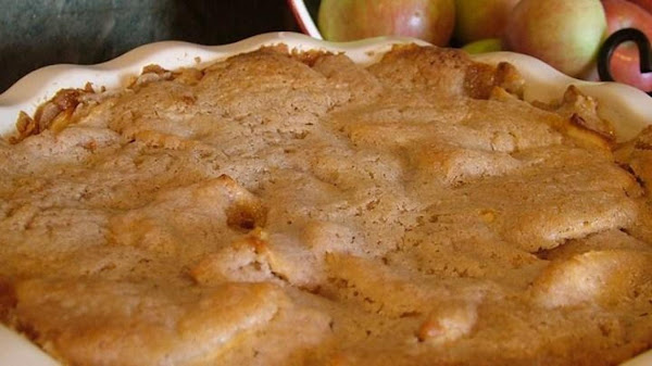 Swedish Apple Pie (originally From Pampered Chef) Recipe