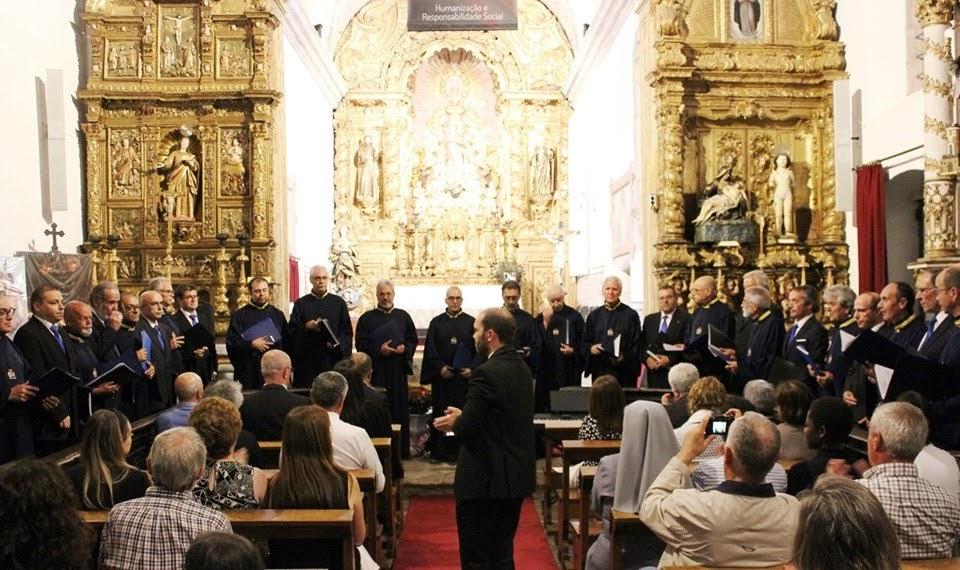 Coros das misericórdias de Lamego e Santo Tirso encantam na Igreja das Chagas