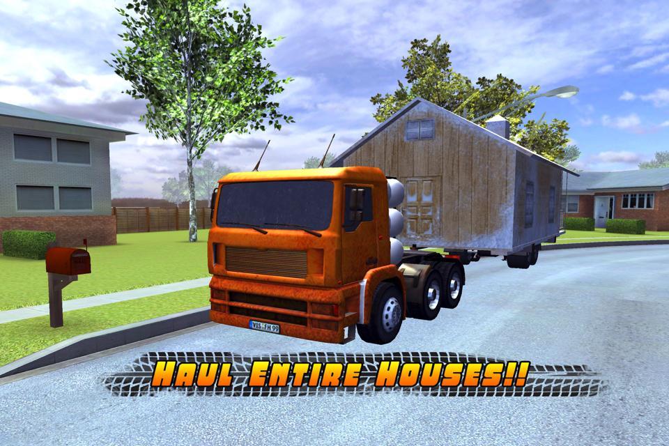 House Truck Parking Simulator Screenshot