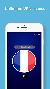 France VPN – Unlimited FREE & Fast Security Proxy App Download For Android 2