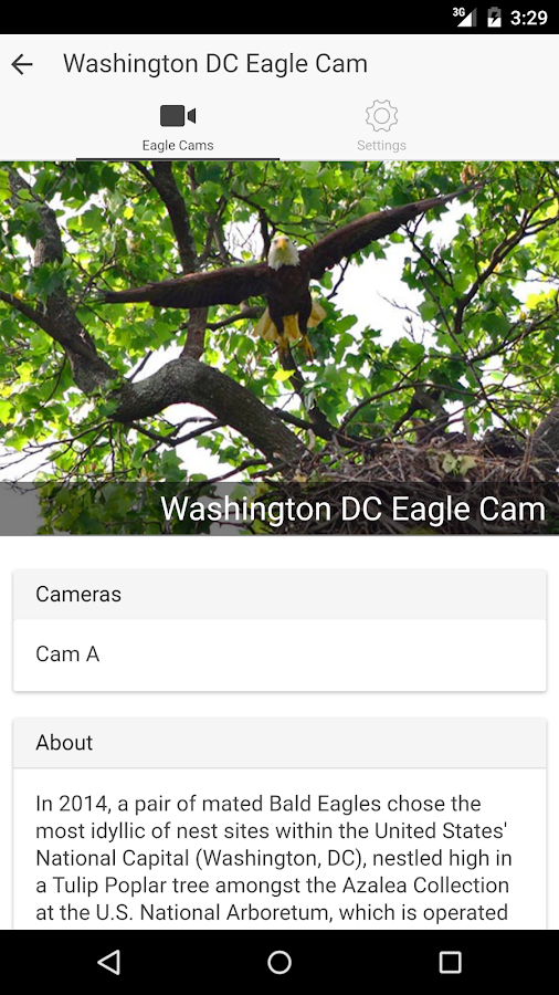 EagleCam- screenshot