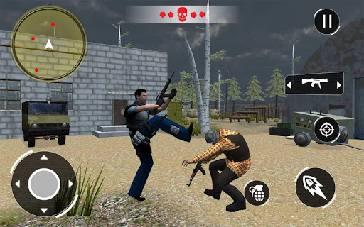 Swat FPS Force: Free Fire Gun Shooting screenshots 1