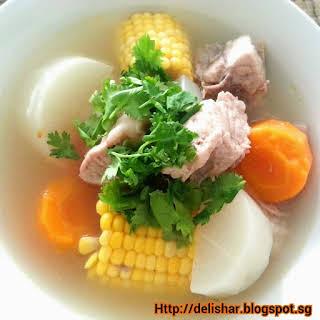 Radish Carrot Soup Recipes.