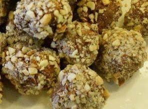 Fudge Nut Balls Recipe
