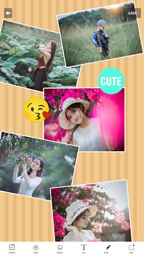 Photo collage maker & Photo Layout capturas de pantalla 8