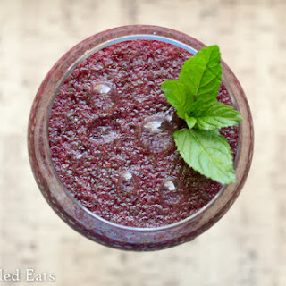 Frozen Blueberry Mojito – Low Carb & Sugar Free.