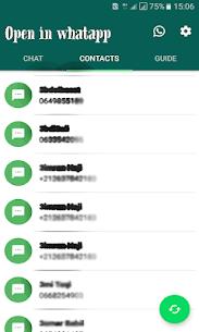 شات ودردشه مع أرقام الواتساب المجهولة دون تسجيلها 4