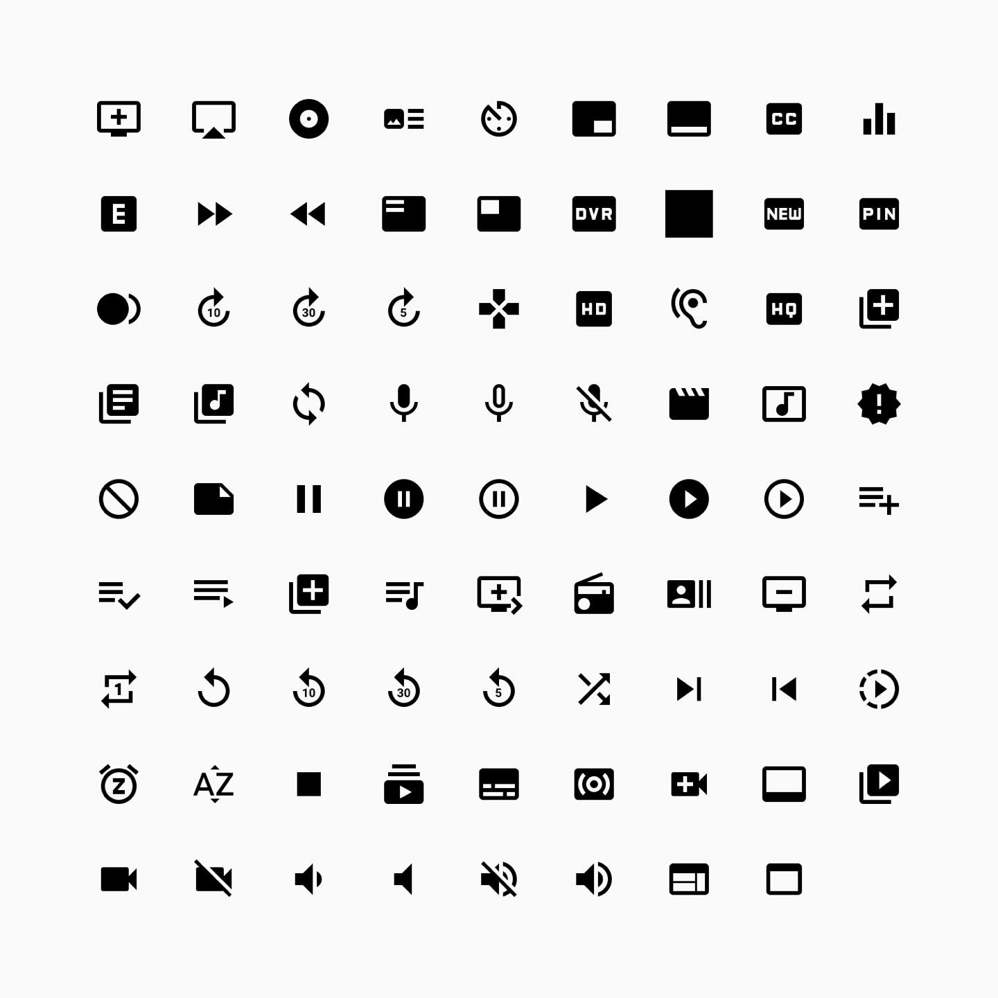icon libraries