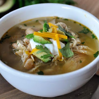Slow Cooker White Bean Chicken Chili.