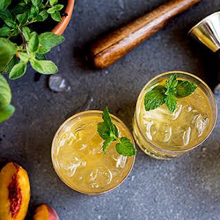 A Summery Bourbon Cocktail.