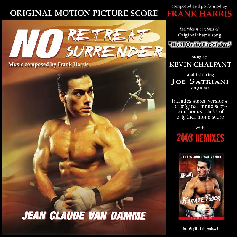 Album Artist: Frank Harris / Album Title: No Retreat, No Surrender (Original Motion Picture Score)