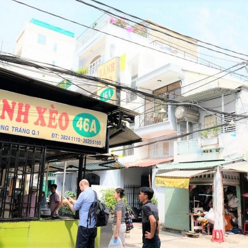 ベトナム・ホーチミンで味わうベトナム風お好み焼き(バインセオ)とは? / 創業70年を超えるバインセオの名店「バインセオ46A」